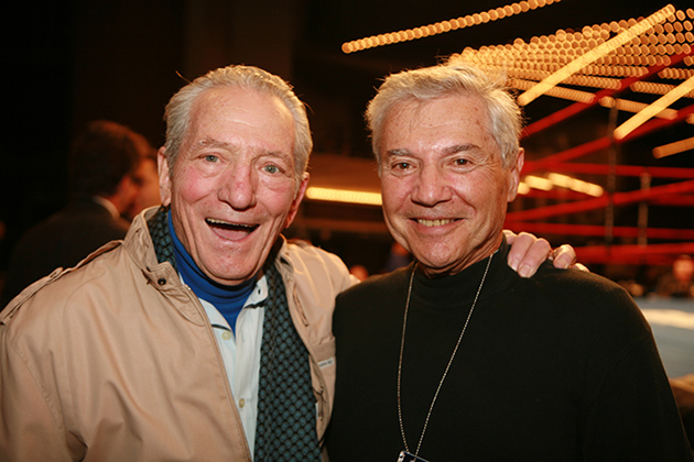 Arthur Mercante and Ron Ross
