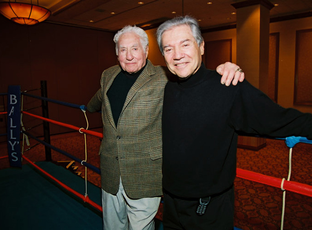 Budd Schulberg (On the Waterfront) and Ron Ross