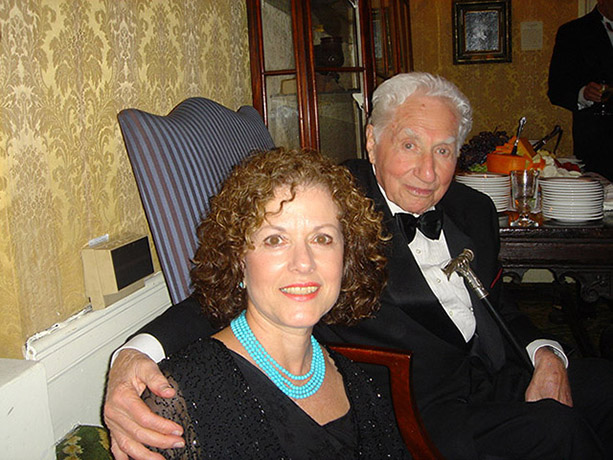 Budd Schulberg and Sue Ross