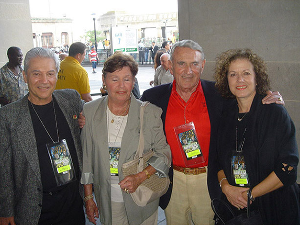Ron Ross, Nancy and Gill Clancy, and Susan Ross