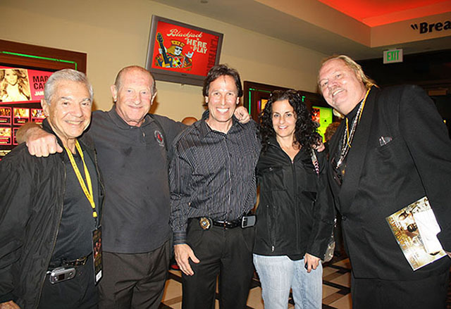 Ron Ross, Dr, Alan Fields, Tom Molloy and his wife, and Johnny Bos
