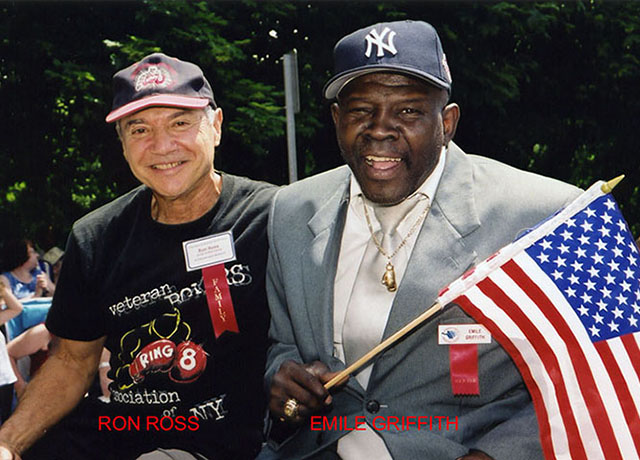 Ross Ross with Emile Griffith
