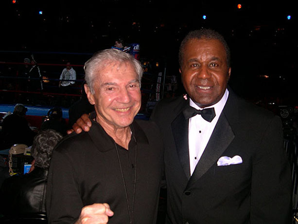 Ron Ross and Emmanuel Steward, 2004