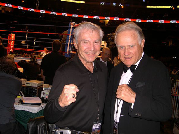 Ron Ross and Larry Merchant, April 10, 2010