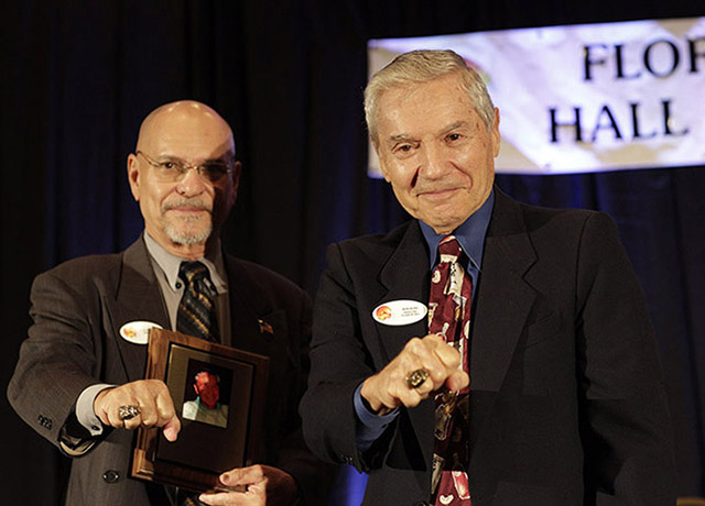 Ron Ross inducted into Florida Boxing Hall of Fame, 2012