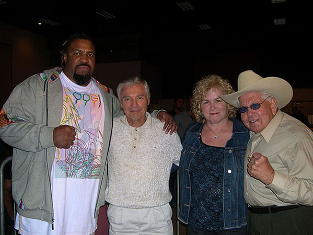 Shannon Briggs, Ron Ross, and Sam Cohen