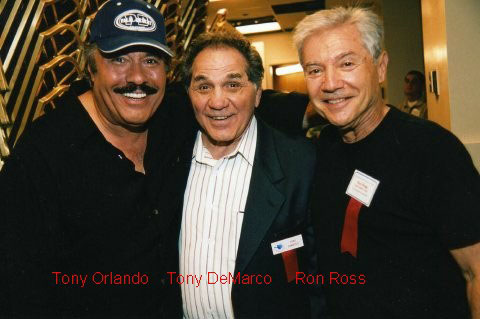 Tony Orlando, Tony DeMarco, and Ron Ross